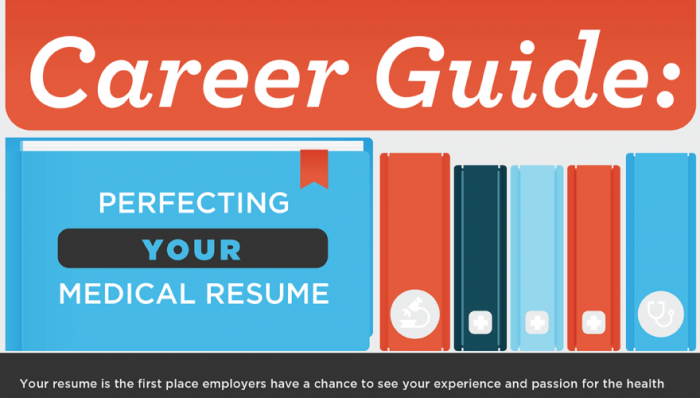 How to Perfect Your Healthcare Resume in One Infographic