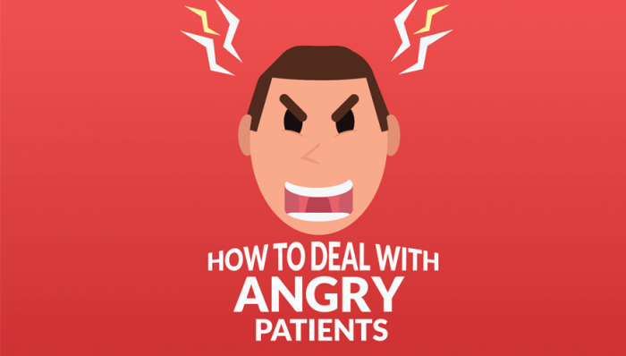 How To Deal With Angry Patients