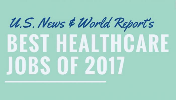 INFOGRAPHIC: The 25 Best Healthcare Jobs of 2017