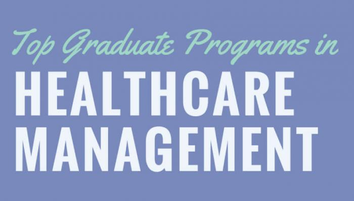 INFOGRAPHIC: Top Graduate Programs in Healthcare Management