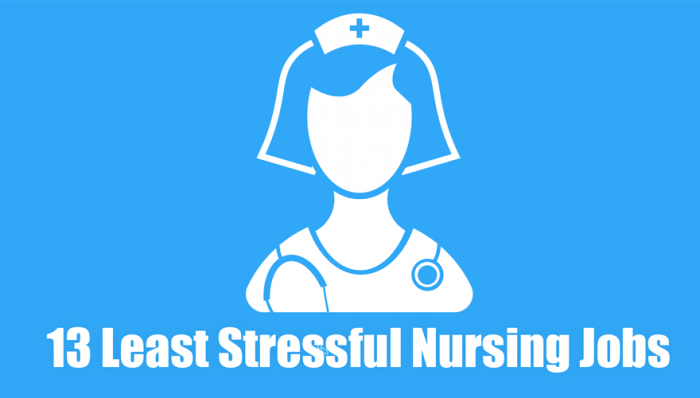 13 Least Stressful Nursing Jobs