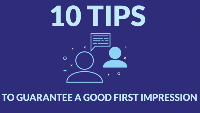 10 Tips To Guarantee A Good First Impression At An Interview