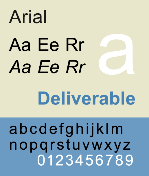 Arial - The Best & Worst Fonts for Your Resume