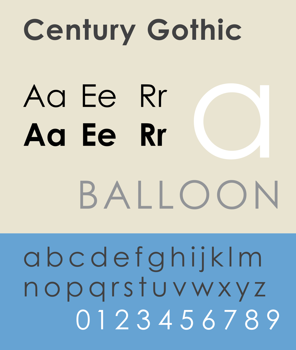 Century Gothic - The Best & Worst Fonts for Your Resume