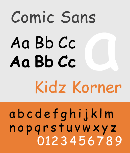Comic Sans - The Best & Worst Fonts for Your Resume