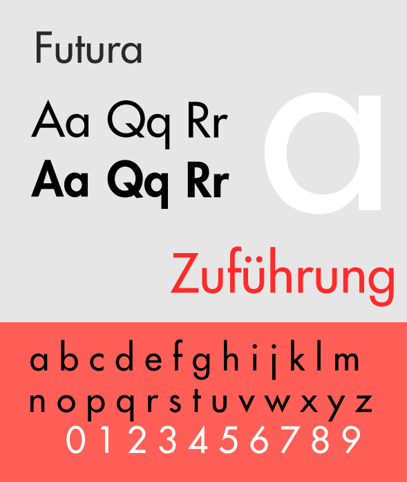 Futura - The Best & Worst Fonts for Your Resume