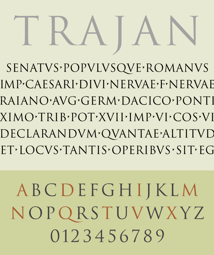 Trajan Pro - The Best & Worst Fonts for Your Resume