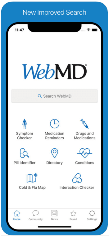 WebMD - Best Medical Apps - HospitalCareers