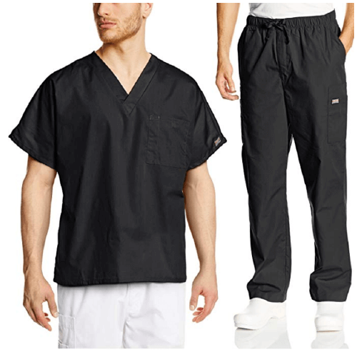 Cherokee Mens Workwear Scrub Set - 25 Cheap Scrub Sets for Medical Professionals