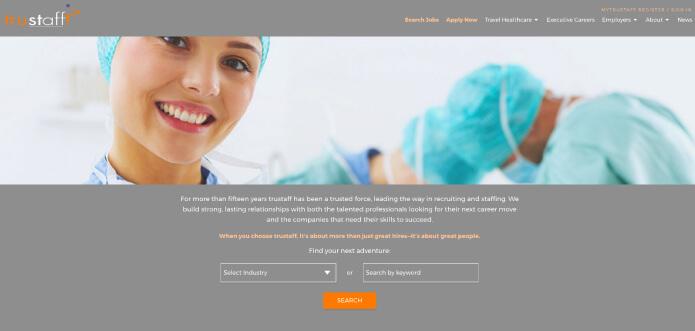 Trustaff - Best Travel Nursing Companies