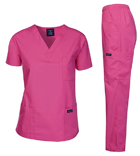 Dagacci Scrubs Medical Uniform Scrub Set - 25 Cheap Scrub Sets for Medical Professionals