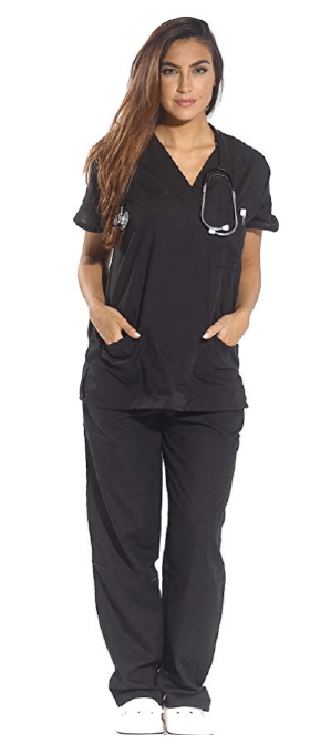 Just Love Women's Scrub Set Six Pocket - 25 Cheap Scrub Sets for Medical Professionals