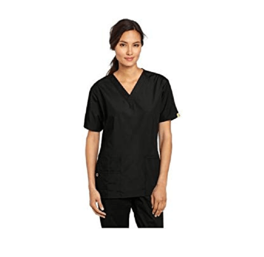 WonderWink Women's Plus Size Scrubs Bravo 5-Pocket - 25 Cheap Scrub Sets for Medical Professionals